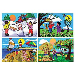 Melissa Doug Four Seasons Floor Puzzle