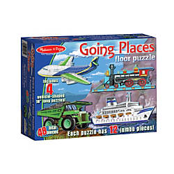 Melissa Doug Going Places 48 Piece