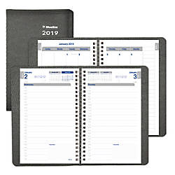 Blueline Net Zero Carbon Daily Planner