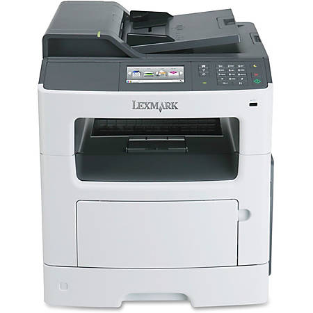 Lexmark™ MX410de Monochrome Laser All-In-One Printer, Copier, Scanner, Fax