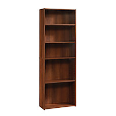 Sauder Beginnings Bookcase 5 Shelf Brook