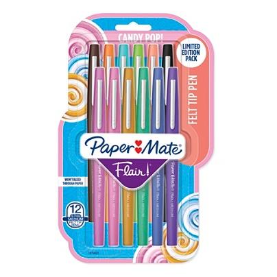 paper mate flair candy pop felt tip markers 1 0 mm medium point