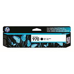 HP 970 Black Ink Cartridge CN621AM
