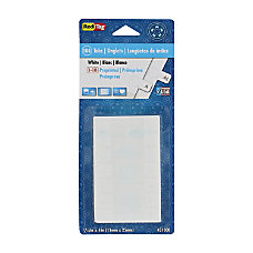 Redi Tag Permanent Index Tabs Blank
