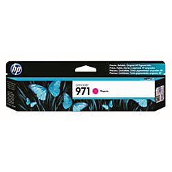 HP 971 Magenta Ink Cartridge CN623AM
