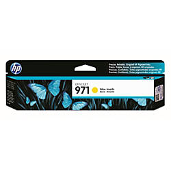 HP 971 Yellow Ink Cartridge CN624AM