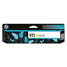 HP 971 Yellow Ink Cartridge CN624AM