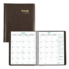 Brownline Ecologix 14 Month Monthly Planner