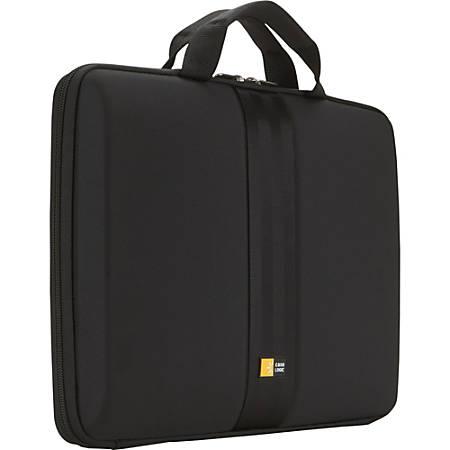 """Case Logic® Hard Shell 13.3"""" Laptop Sleeve, Black"""