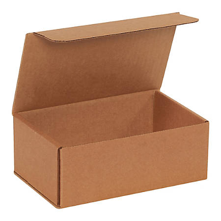 """Office Depot® Brand Corrugated Mailers, 3""""H x 5""""W x 8""""D, Kraft, Pack Of 50 Mailers"""