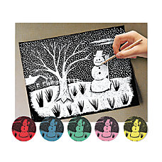 Melissa Doug Scratch Art Paper Pack