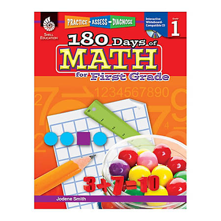 Shell Education 180 Days of Math Practice, Grade 1