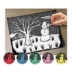 Melissa Doug Scratch Art Paper Pack