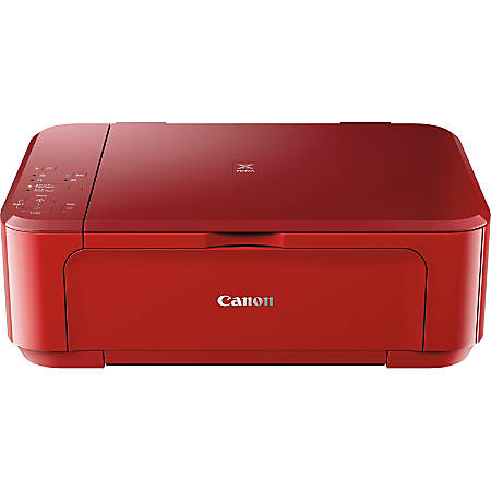 Canon PIXMA™ Wireless Color Inkjet All-In-One Printer, Copier, Scanner, Photo, MG3620, Red