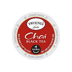 Twinings Chai Tea K Cup Pods