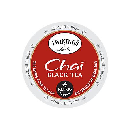 Twinings Chai Tea Single Serve K Cups 0