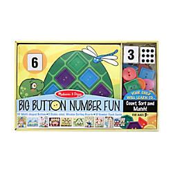 Melissa Doug Big Button Number Fun