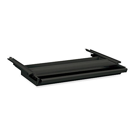 HON®38000 Series Center Drawer, For Double-Pedestal Desk, Charcoal