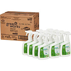 Green Works Bathroom Cleaner Spray Spray