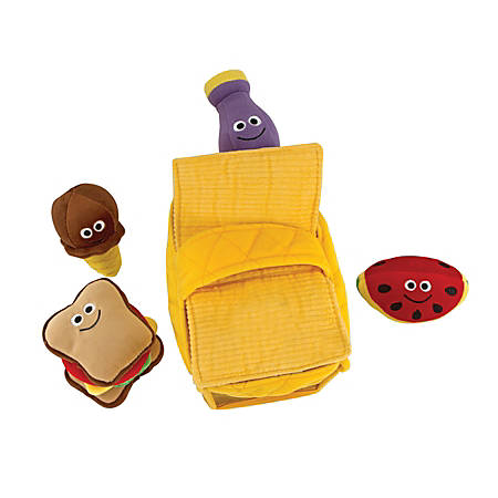 Melissa & Doug Fill And Spill 5-Piece Picnic Basket