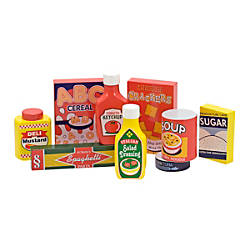 Melissa Doug Pantry Products 9 Piece