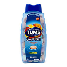 TUMS Smoothies Extra Strength Antacid Tablets