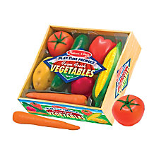 Melissa Doug Play Time Produce Vegetables