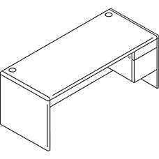 HON 10700 Series Laminate Single Pedestal