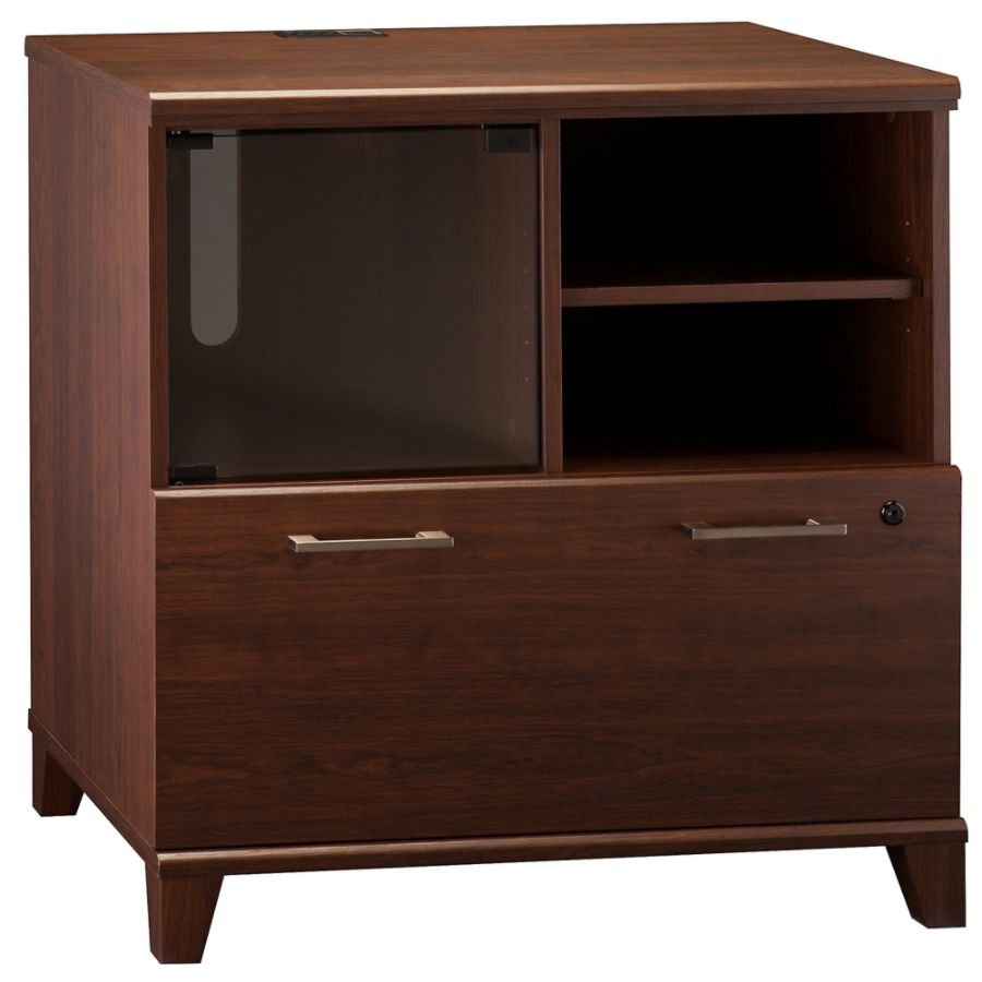 Bush Furniture Achieve Printer Stand File Cabinet Sweet Cherry Standard  Delivery By Office Depot U0026 OfficeMax