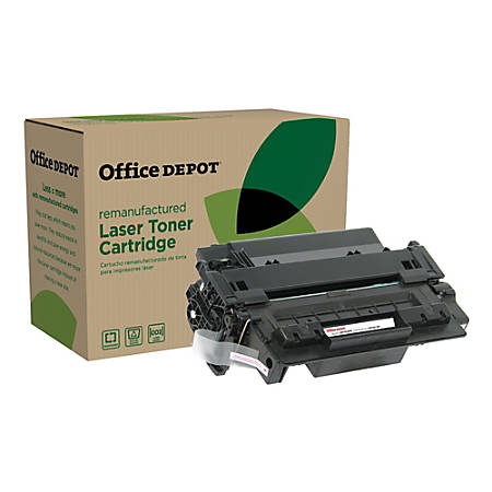 Office Depot® Brand OD55AP Remanufactured Toner Cartridge Replacement For HP 55A Black