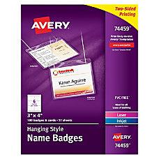 Avery Hanging Name Badge Kit 3
