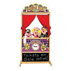 Melissa Doug Deluxe Puppet Theater