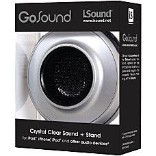iSound GoSound Portable Speaker Silver 208466