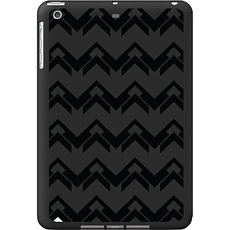 OTM iPad Air Black Matte Case Black/Black Collection,Herringbone - For iPad Air - Herringbone - Black - Matte