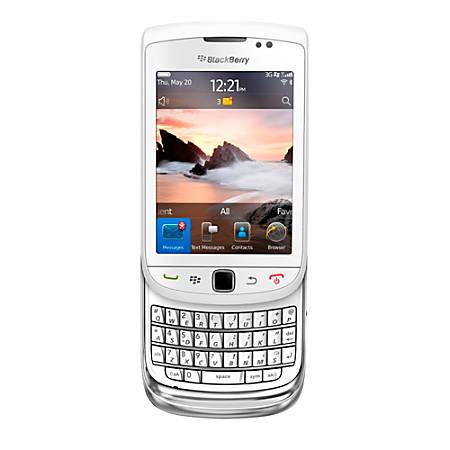 BlackBerry® Torch 9810 3G Slider Cell Phone, White, PBN100137