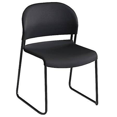 "HON® GuestStacker® 4030-Series Chairs, 31""H x 21""W x 21 1/2""D, Lava, Carton Of 4"