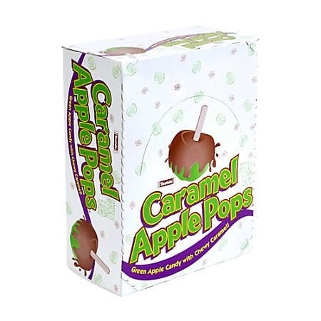 Tootsie Caramel Apple Pops, Bag Of 48