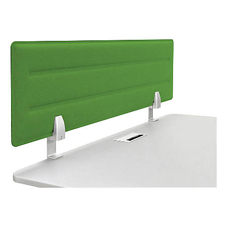 "Iceberg Tackable Felt Privacy Panel, 15""H x 46""W, Green"