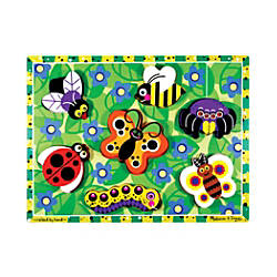 Melissa Doug Insects Chunky Puzzle