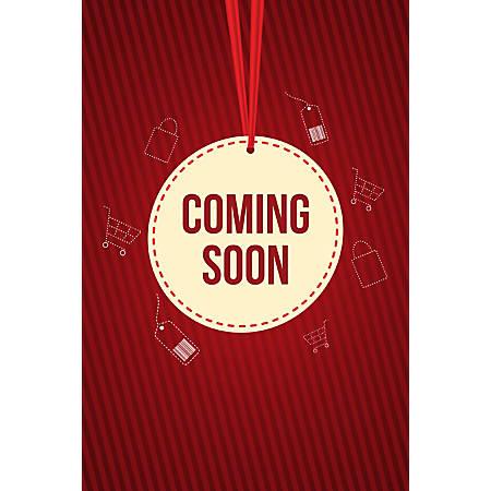 Custom Floor Decal Template, FDV Coming Soon Medal