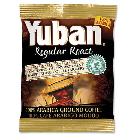 Yuban 100% Arabica Ground Coffee, Carton Of 42 Bags