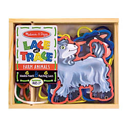 Melissa Doug Farm Animals Lace And