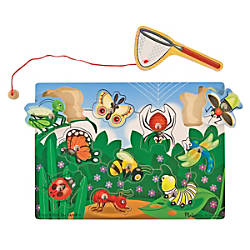 Melissa Doug Bug Catching Magnetic Puzzle Game By Office