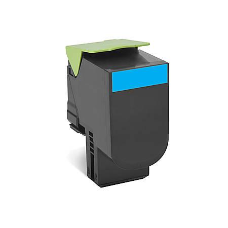 Lexmark™ 80C1XC0 High-Yield Cyan Toner Cartridge