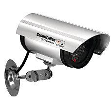 Security Man Simulated Indoor Surveillance Camera