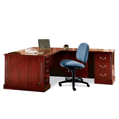 Hon 94000 Series Right Single Pedestal Desk Gany By Office Depot Officemax