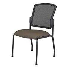 WorkPro Spectrum Armless Guest Chair JavaBlack