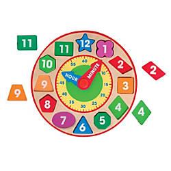 Melissa Doug Shape Sorting Clock