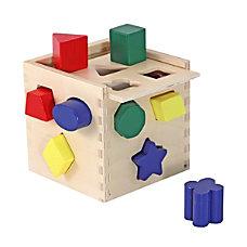 Melissa Doug Shape Sorting Cube
