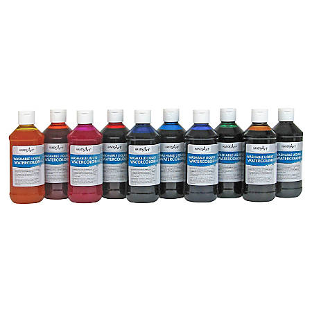 Handy Art Washable Liquid Watercolors